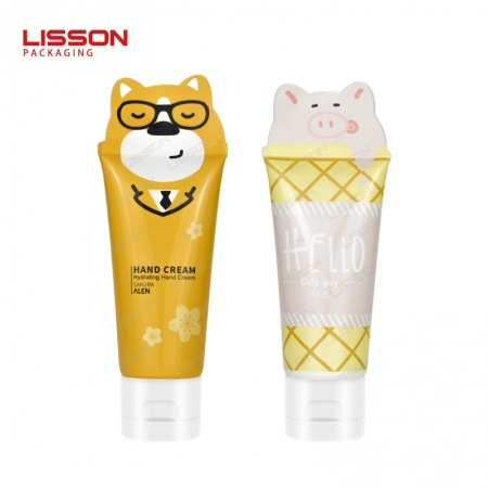 Plastic Cosmetic Tube for Hand Cream